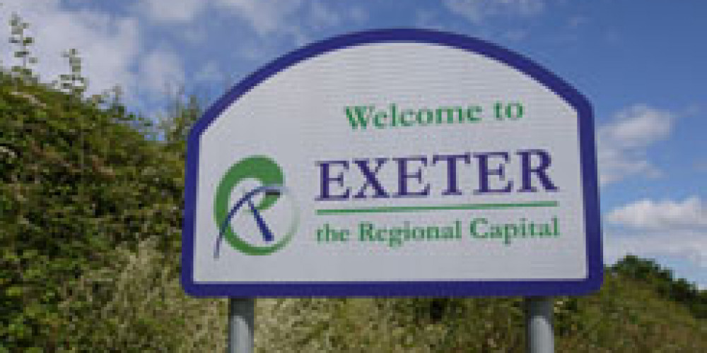 Exeter's economy is booming!