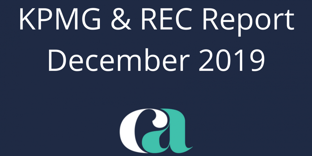 KMPG and REC December Report on Jobs