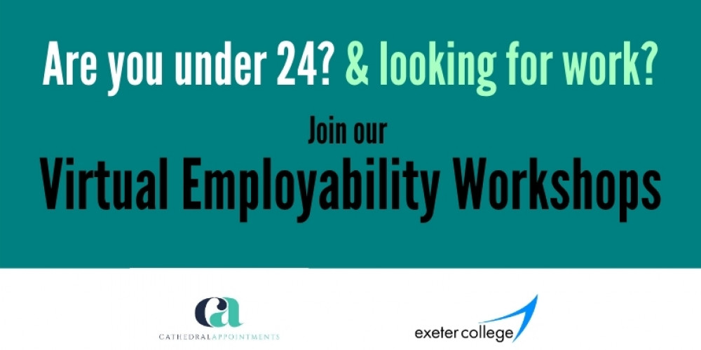Free virtual employability workshops for job seekers aged 24 and under