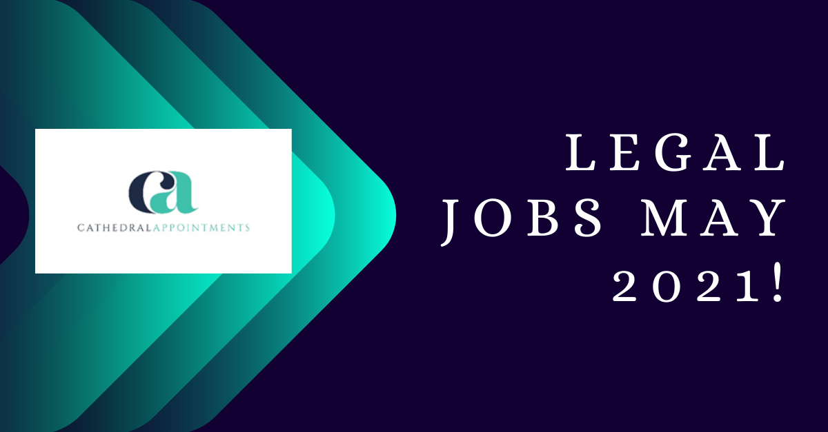 Legal Jobs May 2021 image for LinkedIn